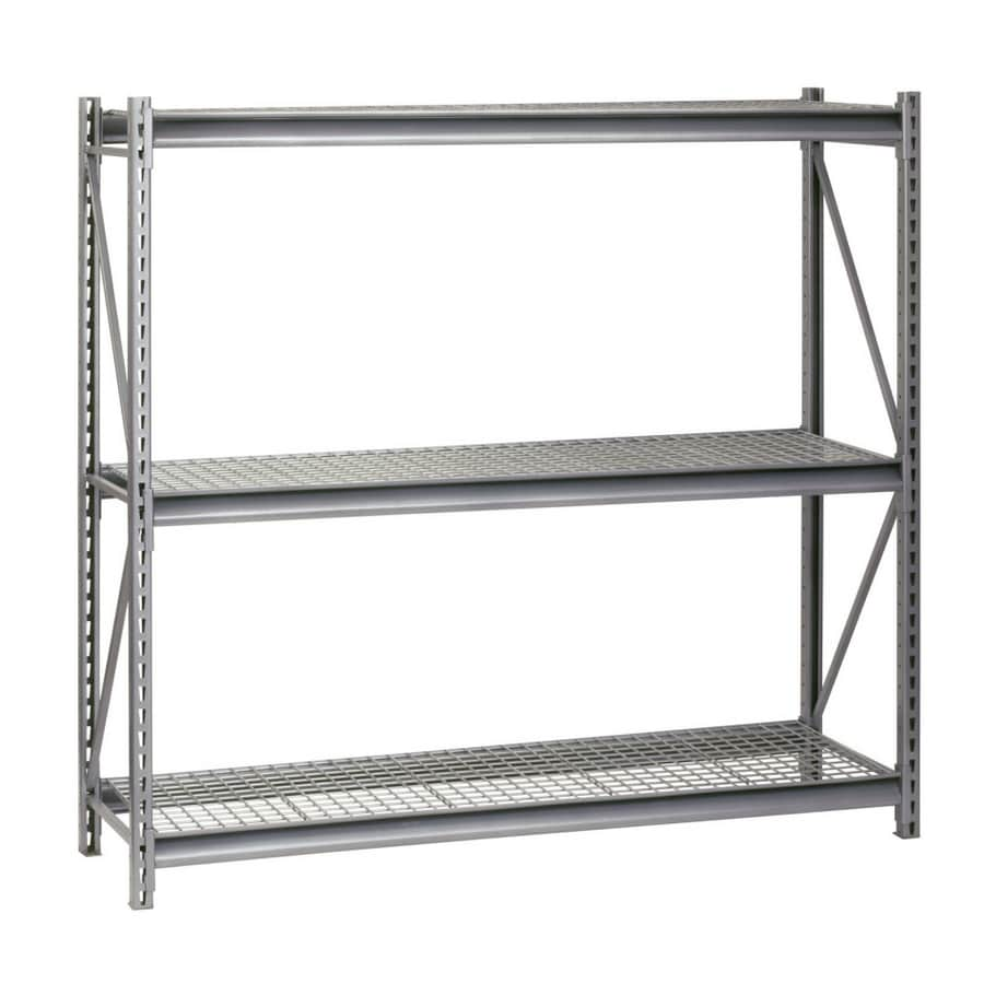 edsal 72-in H x 96-in W x 24-in D Steel Freestanding Shelving Unit