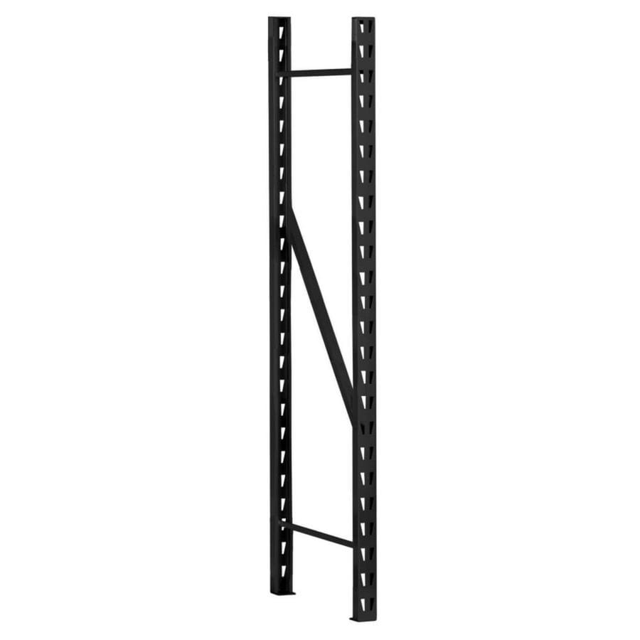 edsal 96-in H x 17-in D Steel Freestanding Shelving Unit