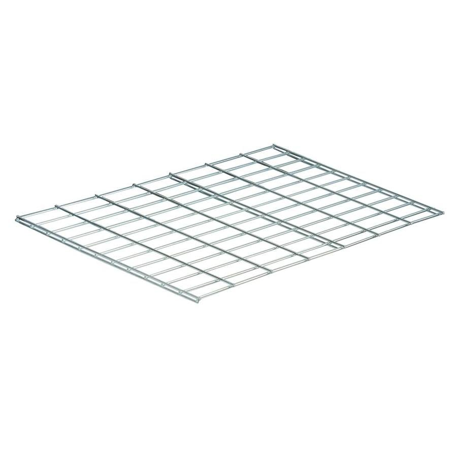 Chrome Wire Shelves | Edsal 2 Ft X 24 In Chrome Wire Shelf At Lowes Com