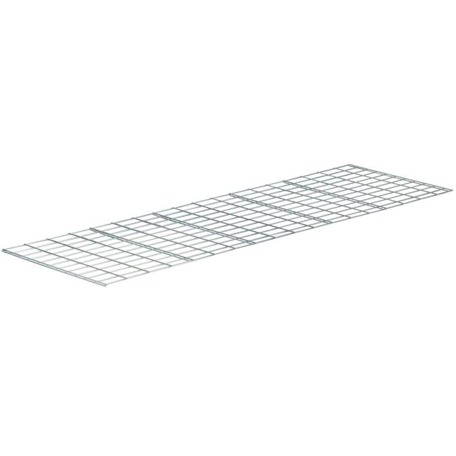 edsal 2.6-ft L x 30-in D Chrome Wire Shelf