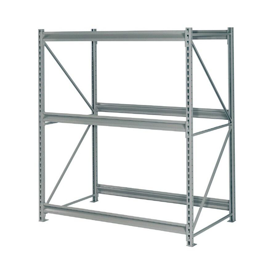 edsal 96-in H x 60-in W x 48-in D 3-Tier Steel Freestanding Shelving Unit