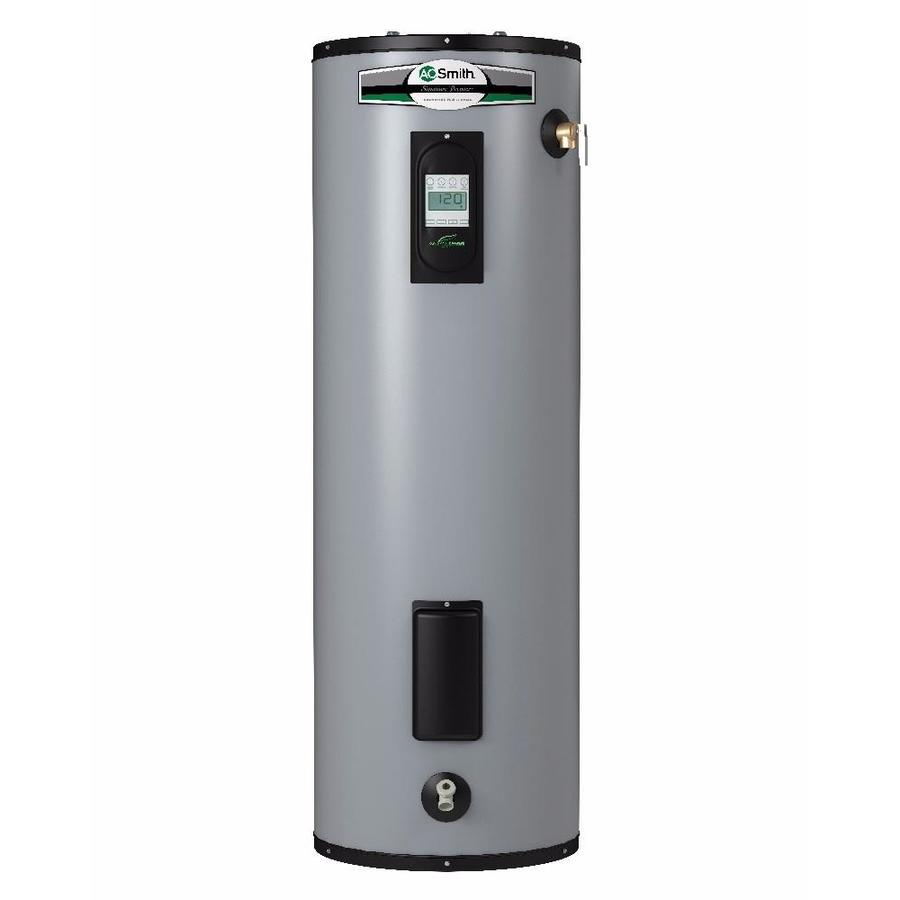 Shop Ao Smith Signature Premier 50 Gallon Tall 12 Year Limited Water Heater Wiring Diagram 5500 Watt Double