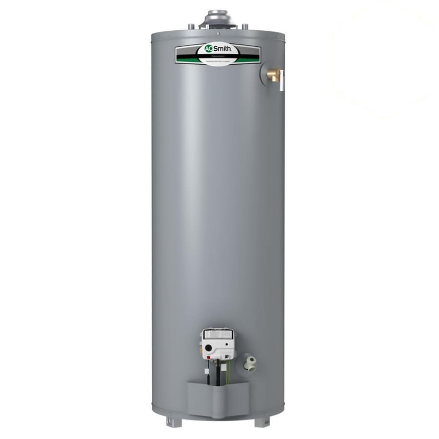 A.O. Smith Signature 40-Gallon 6-year Limited Tall Natural Gas Water Heater
