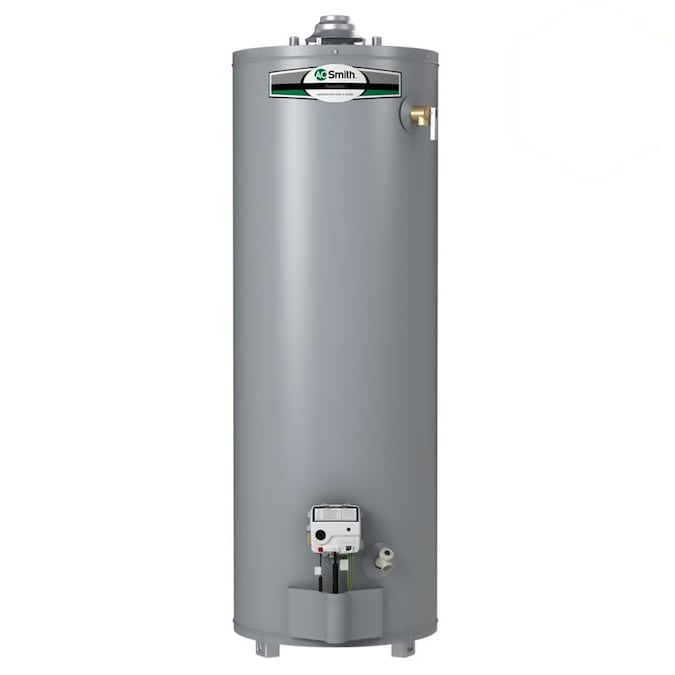A O Smith Signature 40 Gallon Tall 6 Year Limited 34000 Btu Natural Gas Water Heater In The Gas Water Heaters Department At Lowes Com
