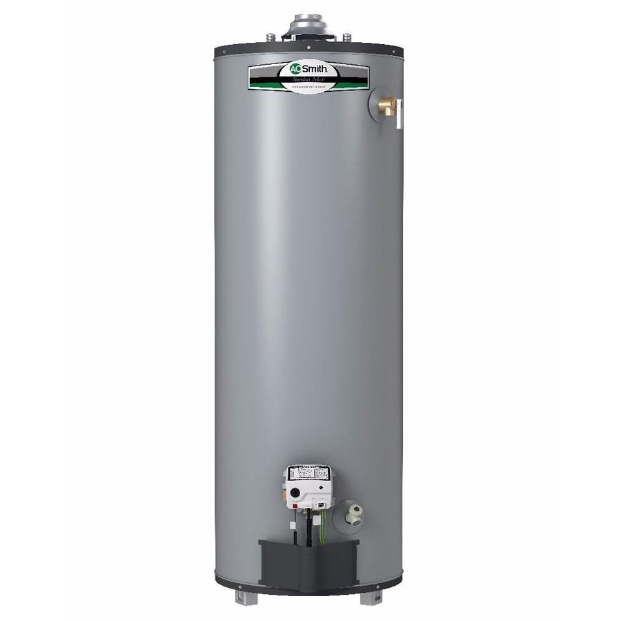 ao smith signature select 40gallon 9year limited tall natural gas water heater