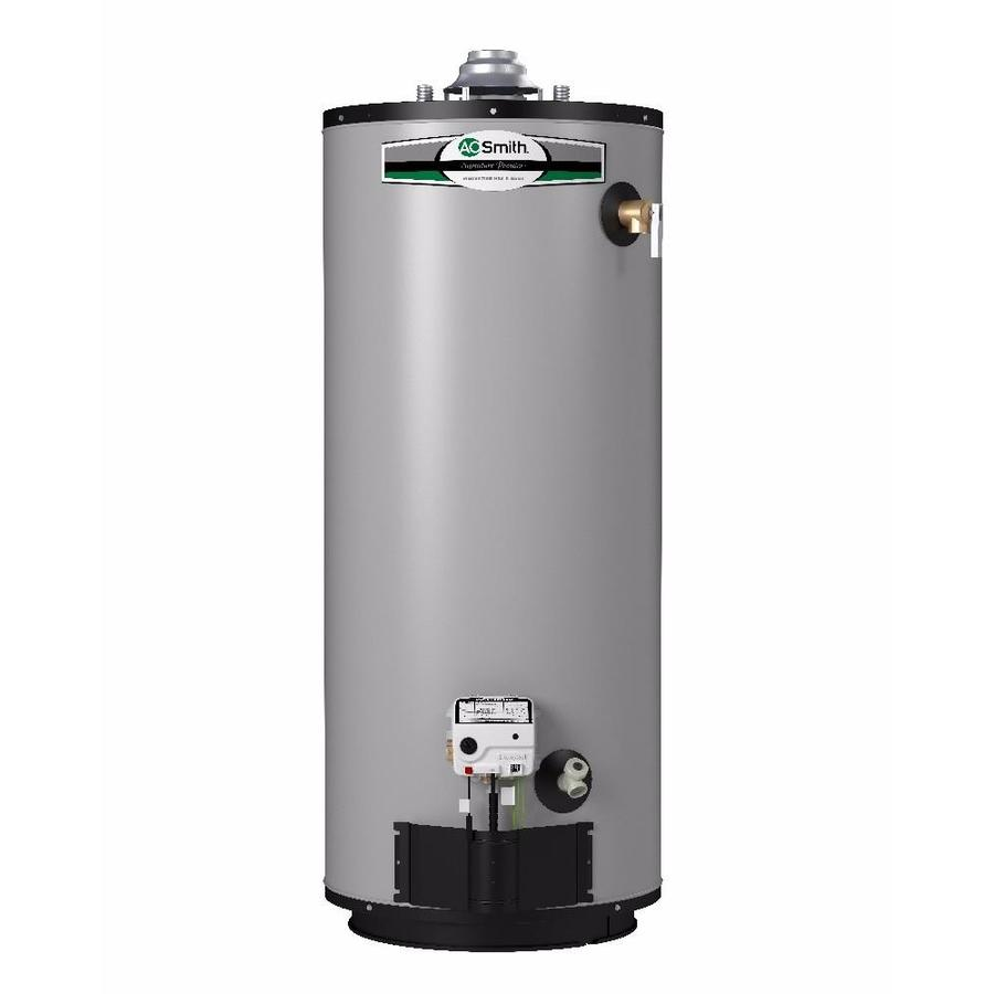 Gas Water Boiler ~ Shop a o smith signature premier gallon short year