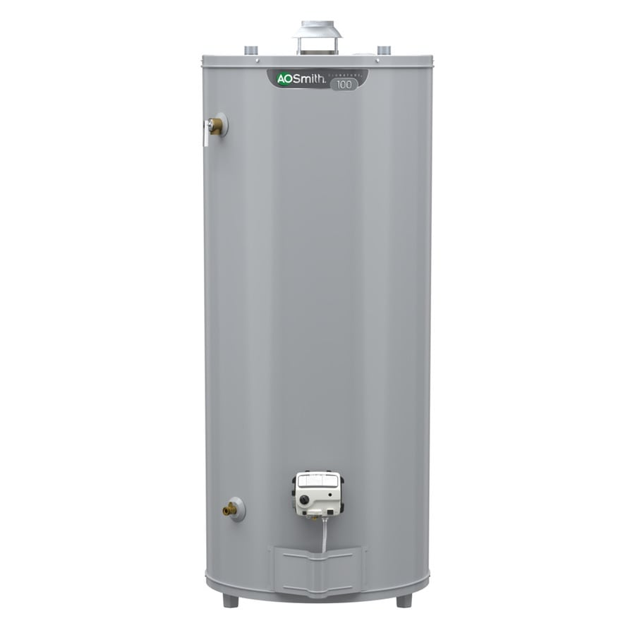 Shop A.O. Smith Signature 98-Gallon Tall 6-year Limited 75100-BTU ...
