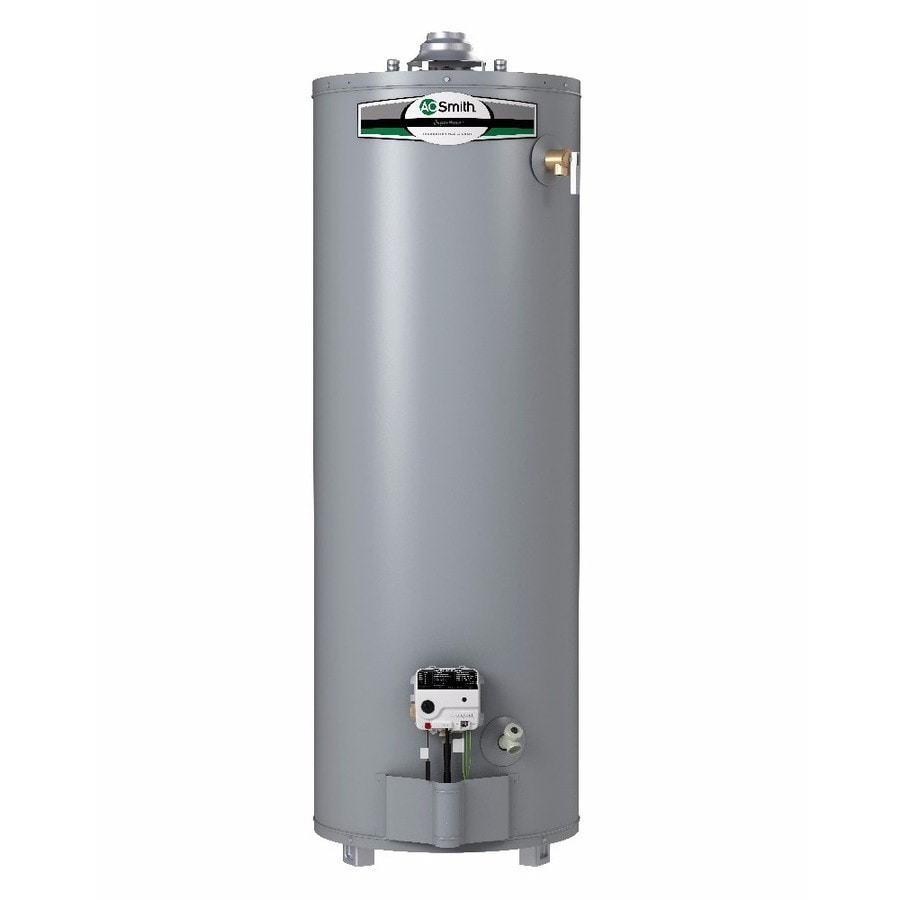 Shop A.O. Smith Signature 40-Gallon Tall 6-year Limited 40000-BTU ...