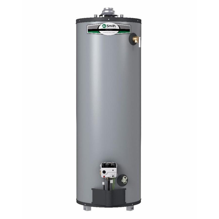 A.O. Smith Signature Select 40-Gallon 9-year Limited Tall Natural Gas Water Heater