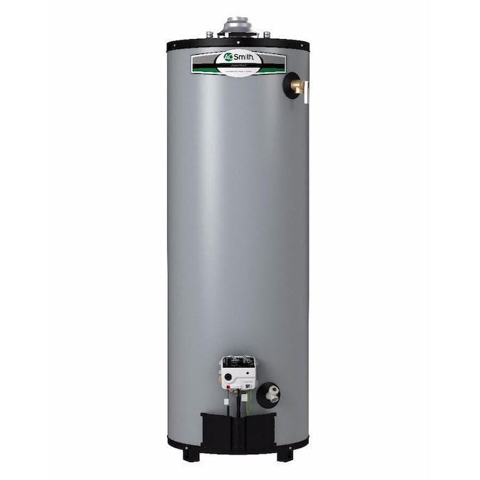 A O Smith Signature Premier 40 Gallon Tall 12 Year Limited 40000 Btu Natural Gas Water Heater In The Gas Water Heaters Department At Lowes Com