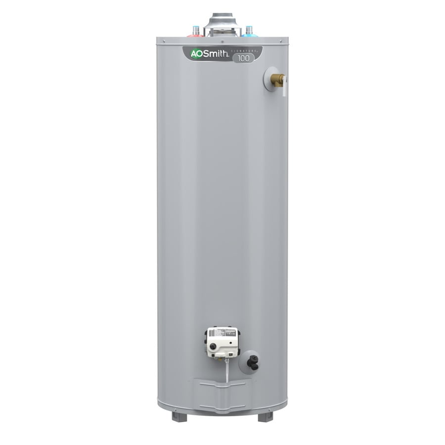 Shop A.O. Smith Signature 50-Gallon Tall 6-year Limited ...