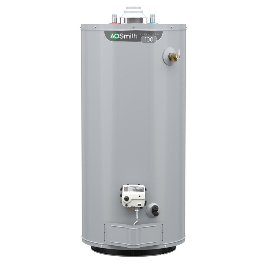 A.O. Smith Signature 40-Gallon 6-year Limited Short Natural Gas Water Heater