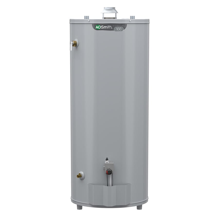 A.O. Smith Signature 98-Gallon 6-year Limited Tall Natural Gas Water Heater