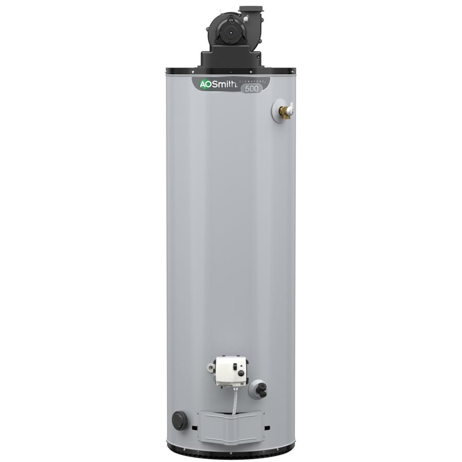 A.O. Smith Signature Premier 50-Gallon 6-year Limited Tall Natural Gas Water Heater