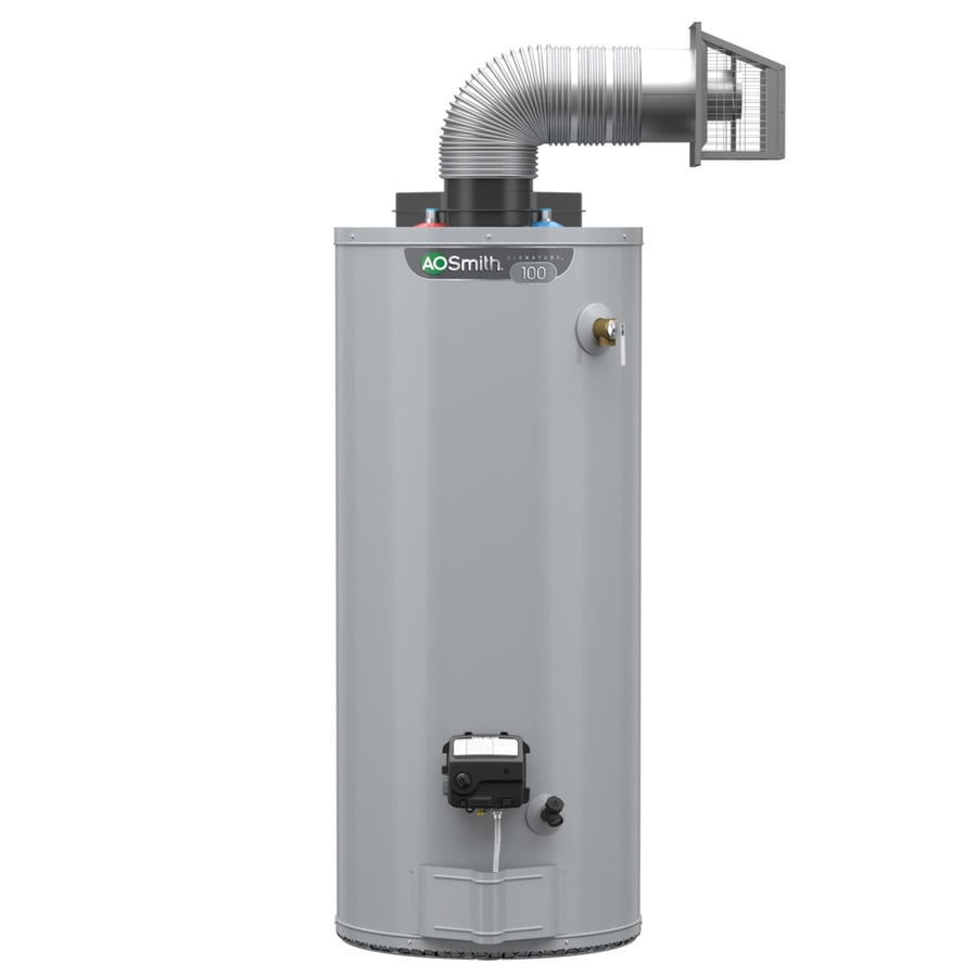 A.O. Smith Signature 50-Gallon 6-year Limited Tall Natural Gas Water Heater