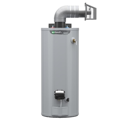 Signature 50 Gallon Tall 6 Year Limited 40000 Btu Natural Gas Water Heater
