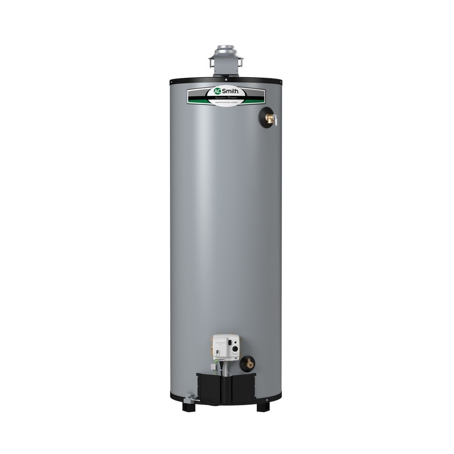 A.O. Smith Signature Premier 40-Gallon 12-Year Limited Tall Natural Gas Water Heater