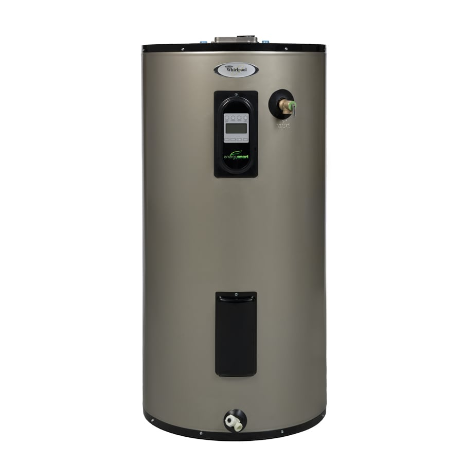 035505146380 shop whirlpool 50 gallon 12 year regular electric water heater at 50 Gallon Gas Hot Water at eliteediting.co