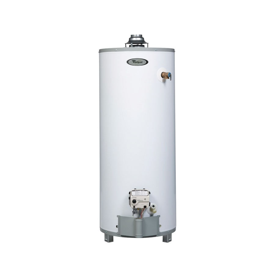 Shop Whirlpool 40Gallon 9Year Residential Short Natural Gas Water