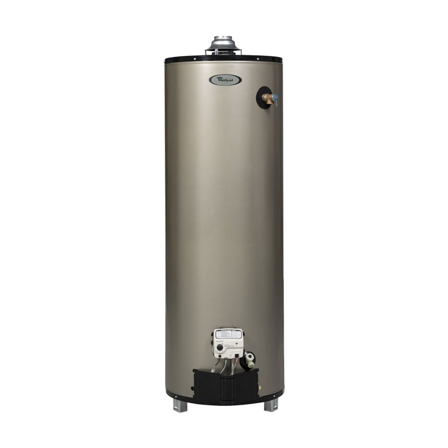 Whirlpool 40-Gallon 12-Year Residential Tall Natural Gas Water Heater