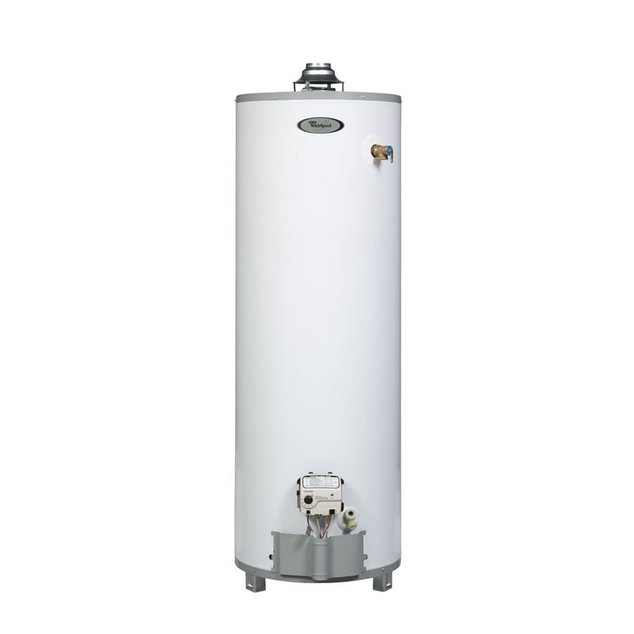 Shop Whirlpool 40 Gallon 9 Year Residential Tall Natural