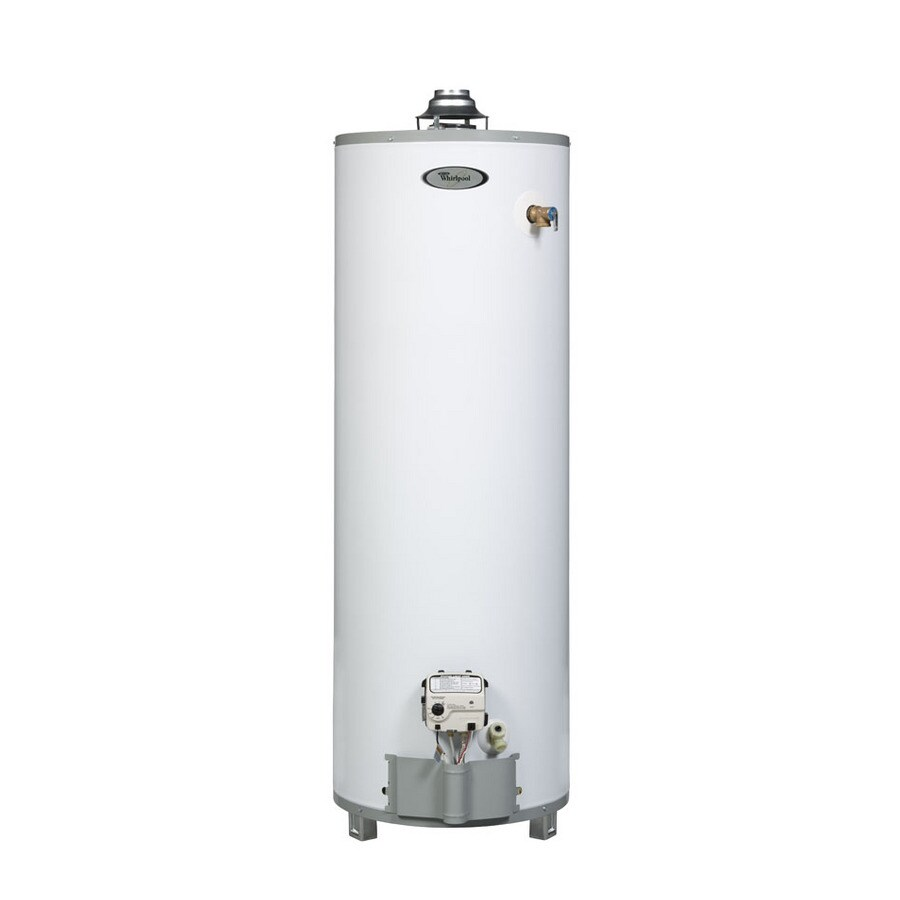 Whirlpool 50-Gallon 9-Year Residential Tall Natural Gas Water Heater