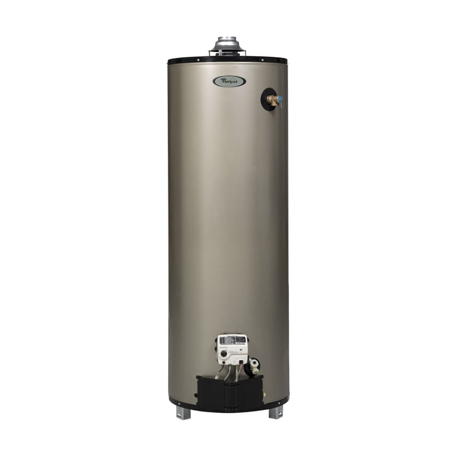Whirlpool 50-Gallon 12-Year Residential Tall Natural Gas Water Heater