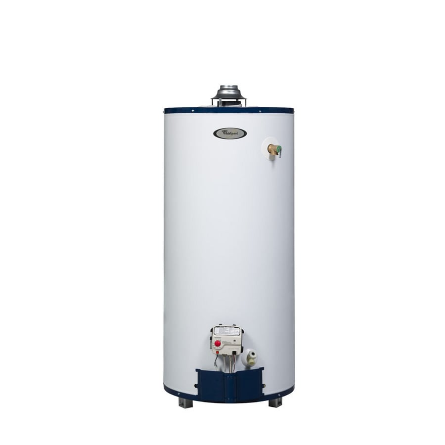 Whirlpool 50-Gallon 6-Year Residential Tall Liquid Propane Water Heater