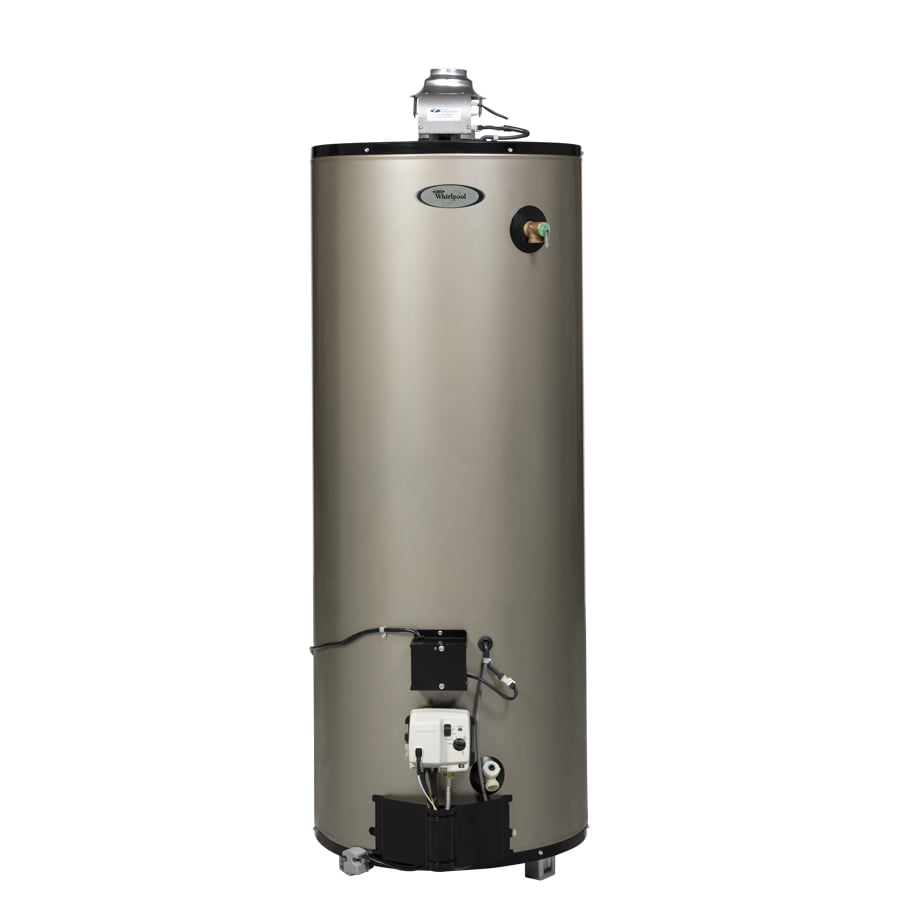 Shop Whirlpool 50 Gallon 12 Year Residential Tall Natural