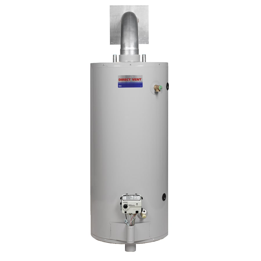Direct Vent 40 Gallon 6 Year Short Gas Water Heater