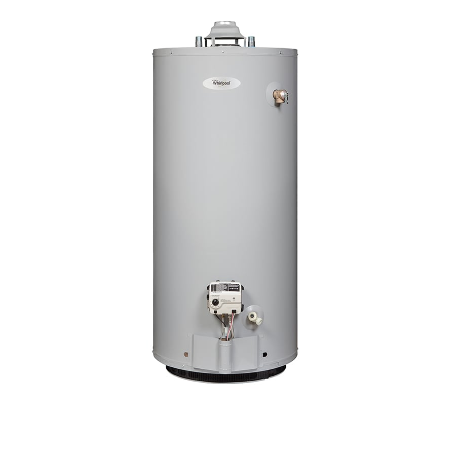 Shop whirlpool 40 gallon short 6 year 40000 btu natural Natural gas water heater