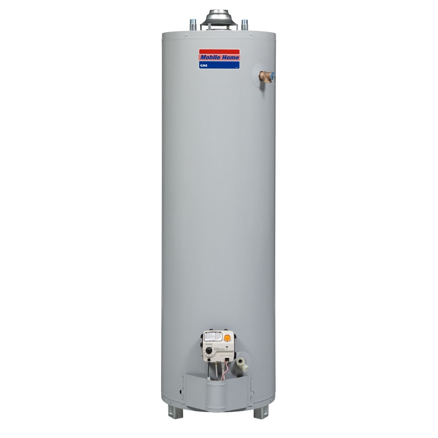 shop mobile home 40 gallon 6 year residential mobile home water heater