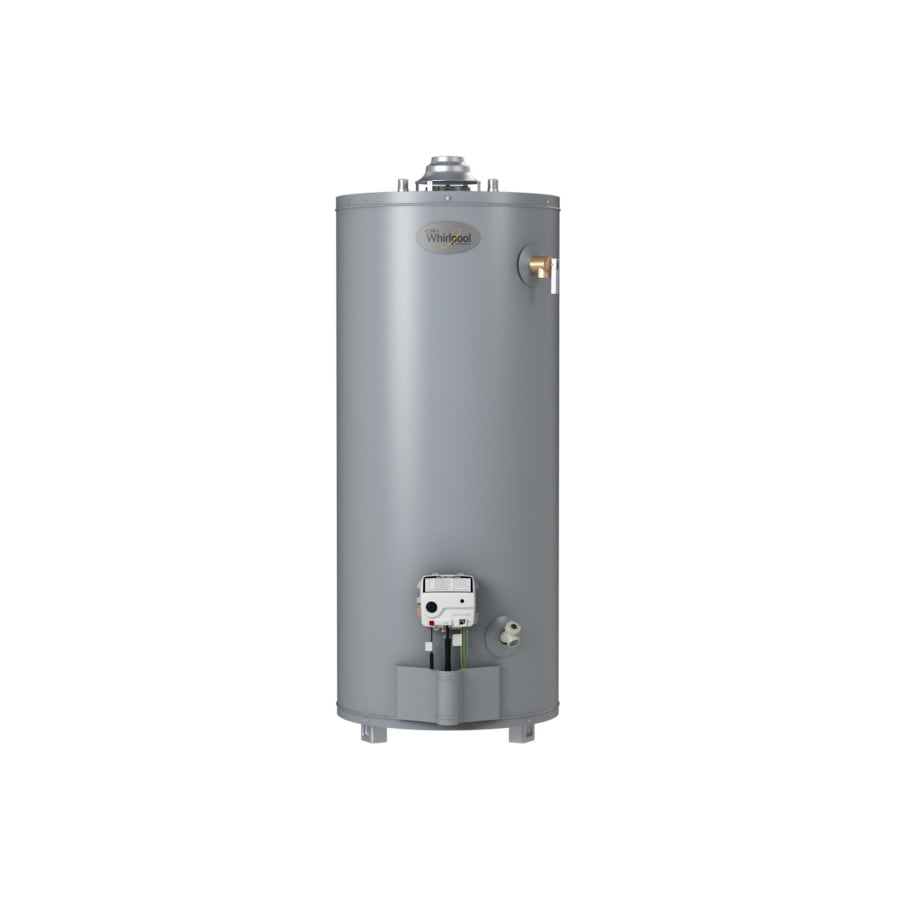 035505155986 shop whirlpool 40 gallon 6 year short natural gas water heater at 50 Gallon Gas Hot Water at eliteediting.co