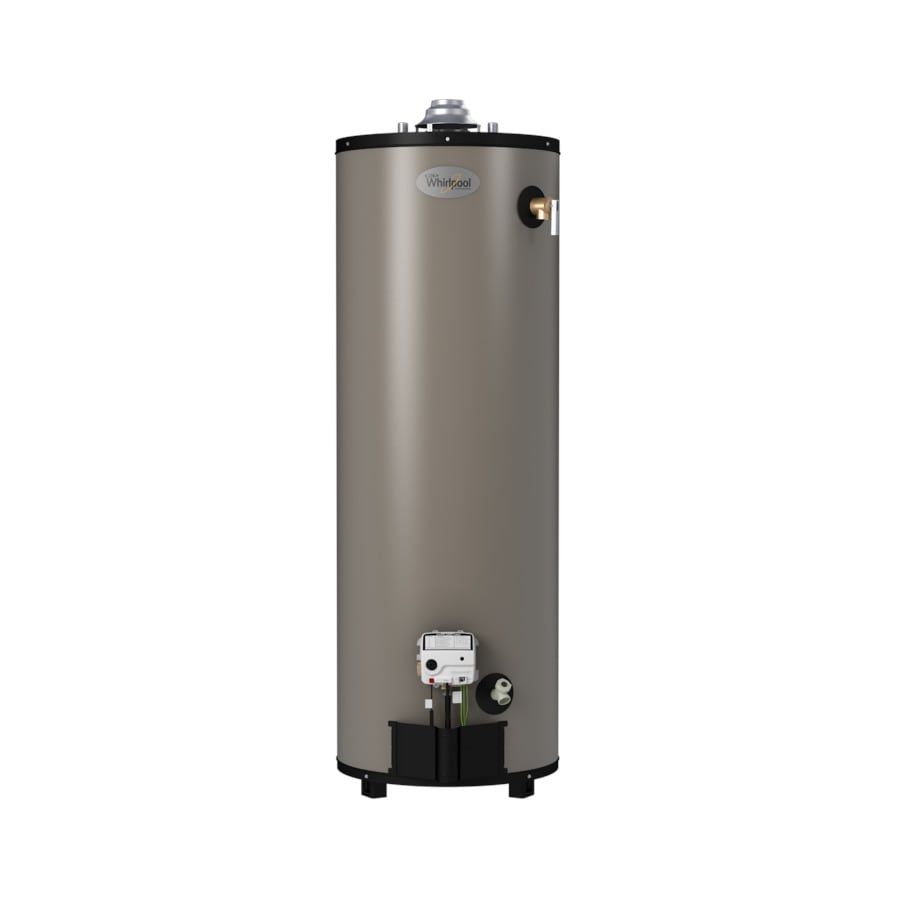 Shop whirlpool 40 gallon 12 year limited tall natural gas Natural gas water heater
