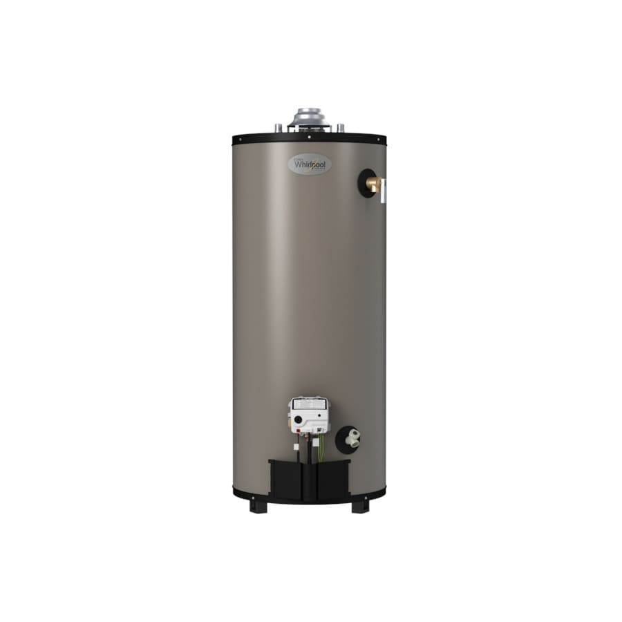 Whirlpool 40-Gallon 10-Year Short Natural Gas Water Heater