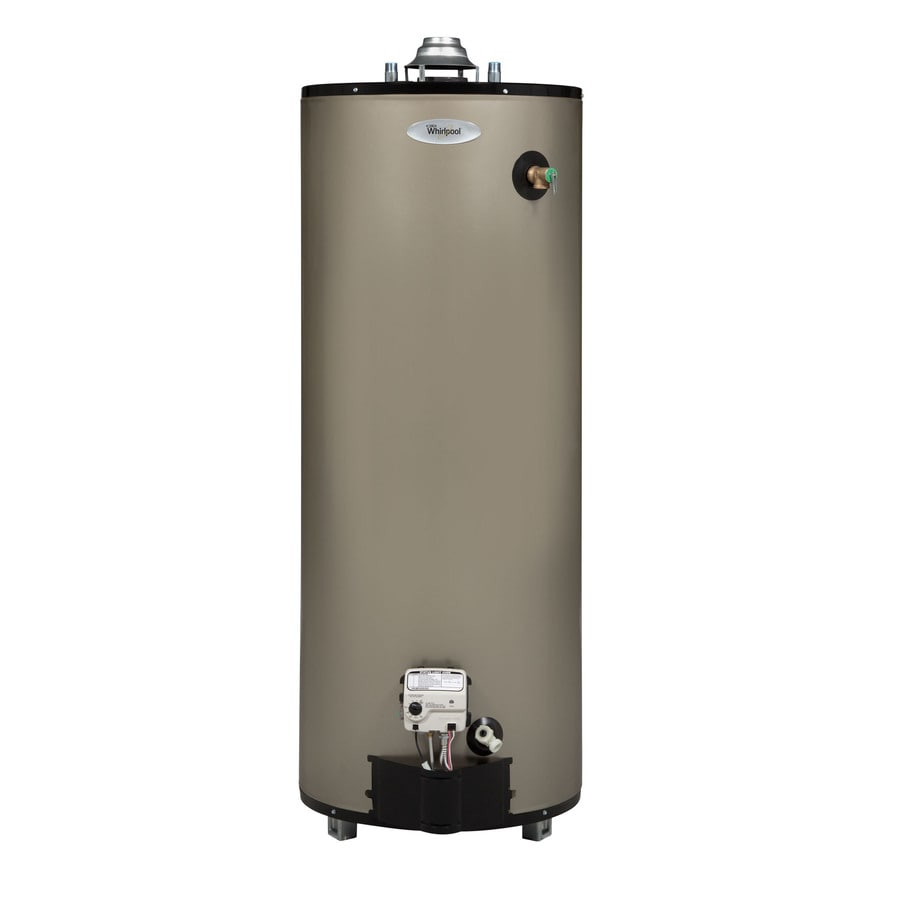 Whirlpool 40-Gallon 10-Year Tall Natural Gas Water Heater