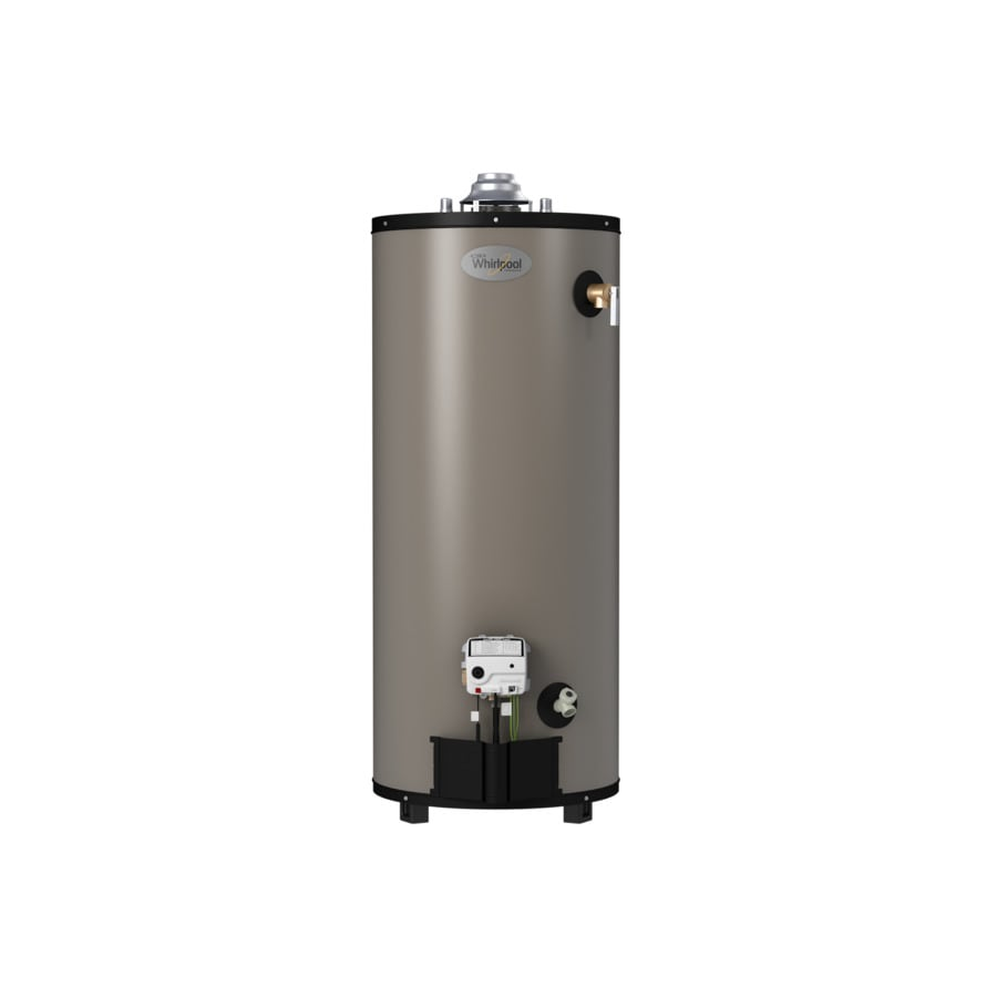 035505160348 shop whirlpool 50 gallon 10 year tall natural gas water heater at 50 Gallon Gas Hot Water at eliteediting.co