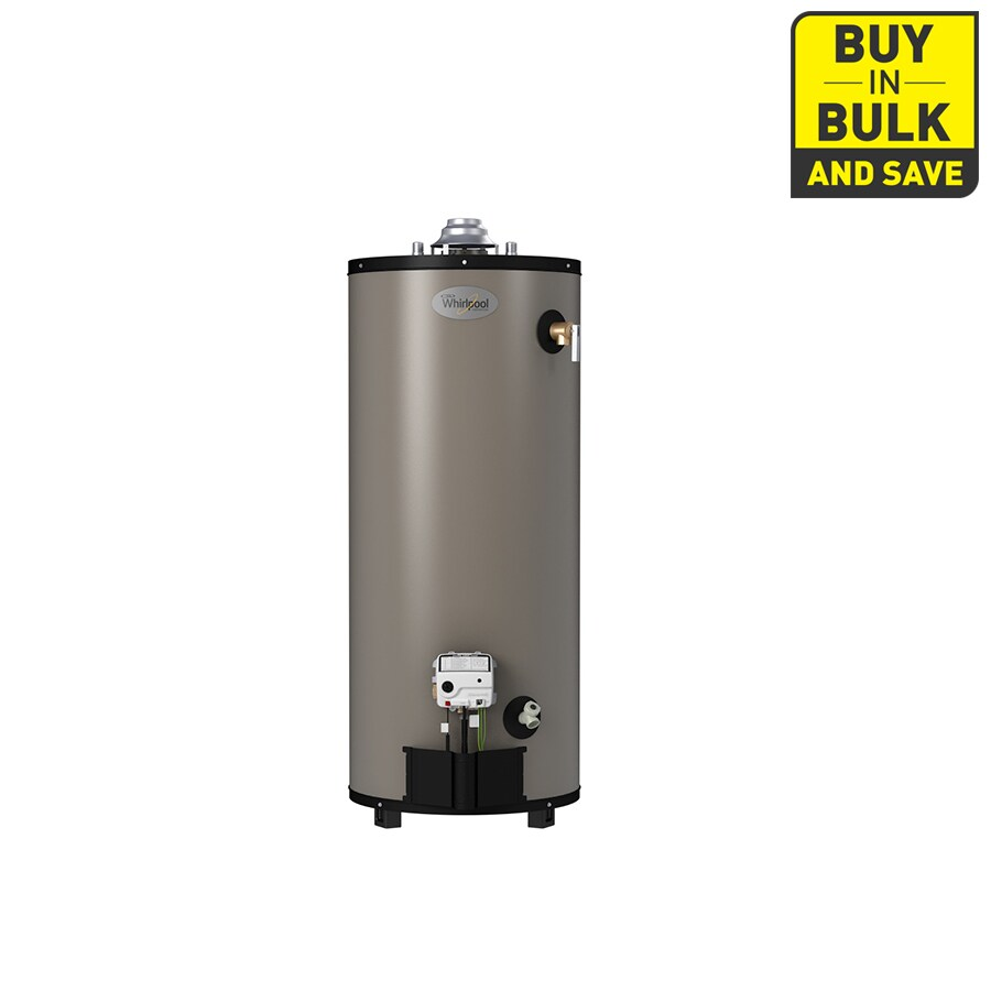 Whirlpool 50-Gallon 10-Year Tall Natural Gas Water Heater