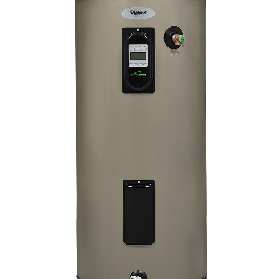 Whirlpool 50-Gallon 6-Year Tall Electric Water Heater at ...