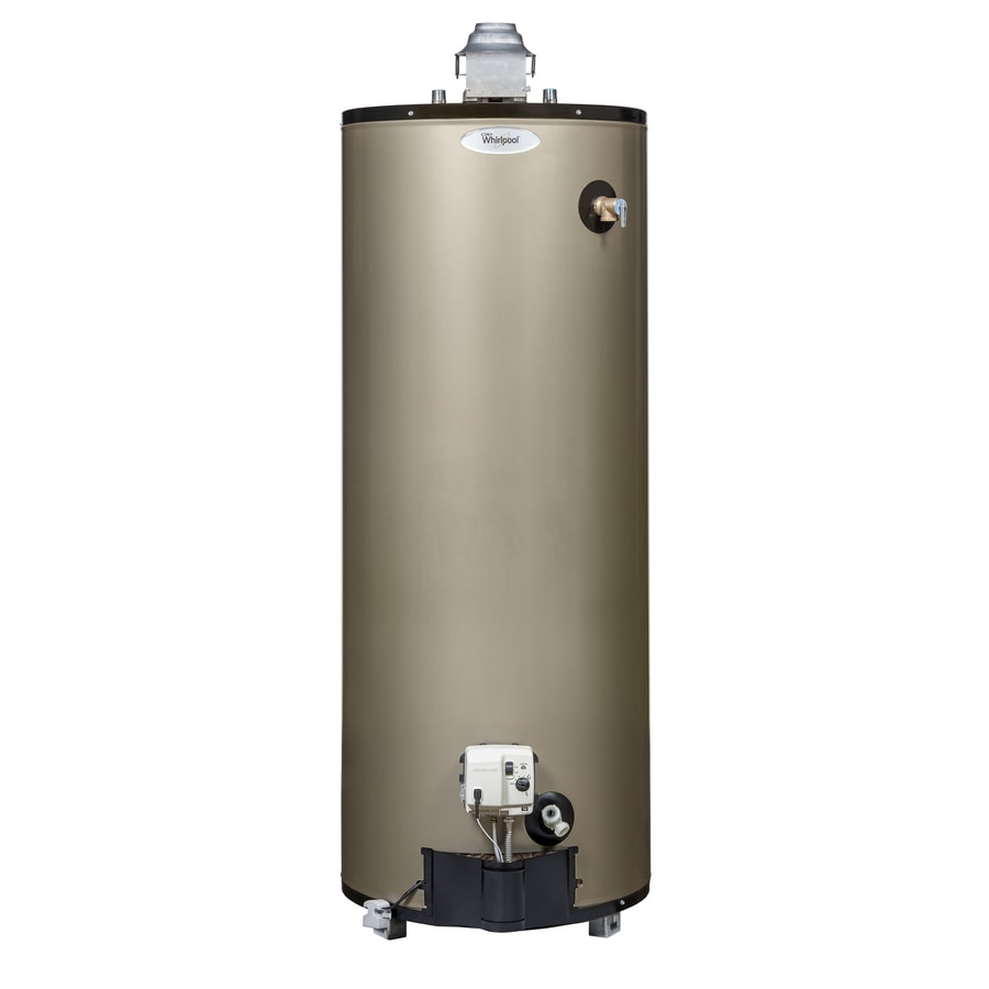 Whirlpool 50-Gallon 12-Year Limited Tall Natural Gas Water Heater