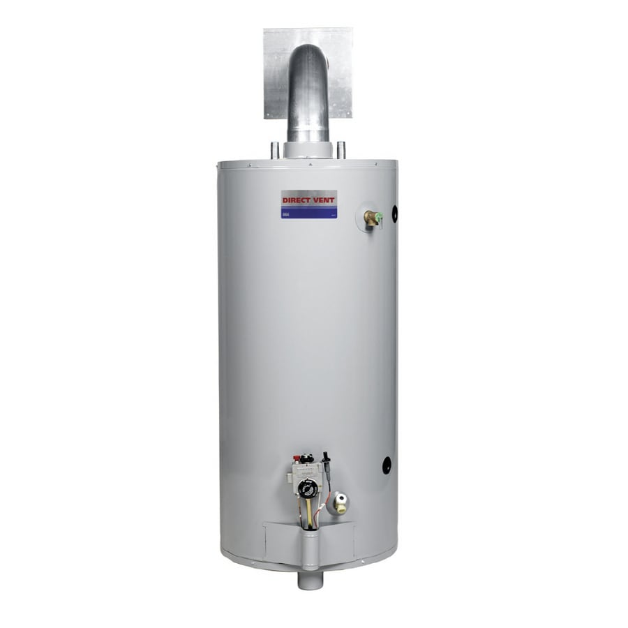 Direct Vent 40 Gallon 6 Year Gas Water Heater Natural Gas