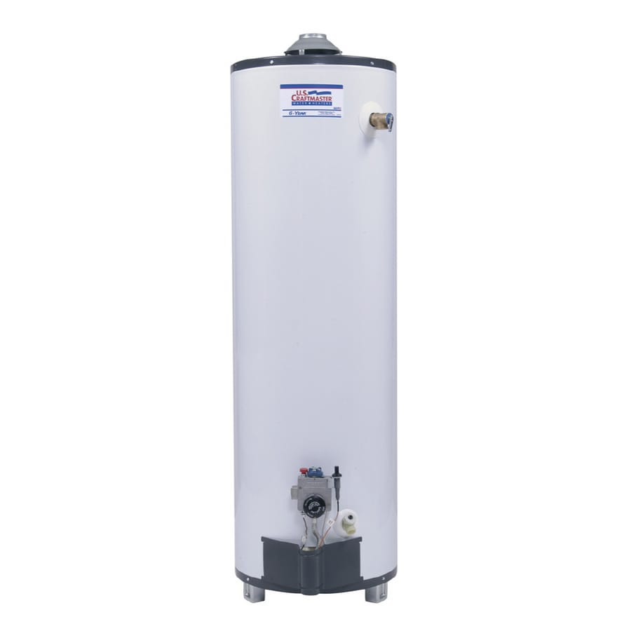 U.S. Craftmaster 40-Gallon 6-Year Residential Tall Liquid Propane Water Heater