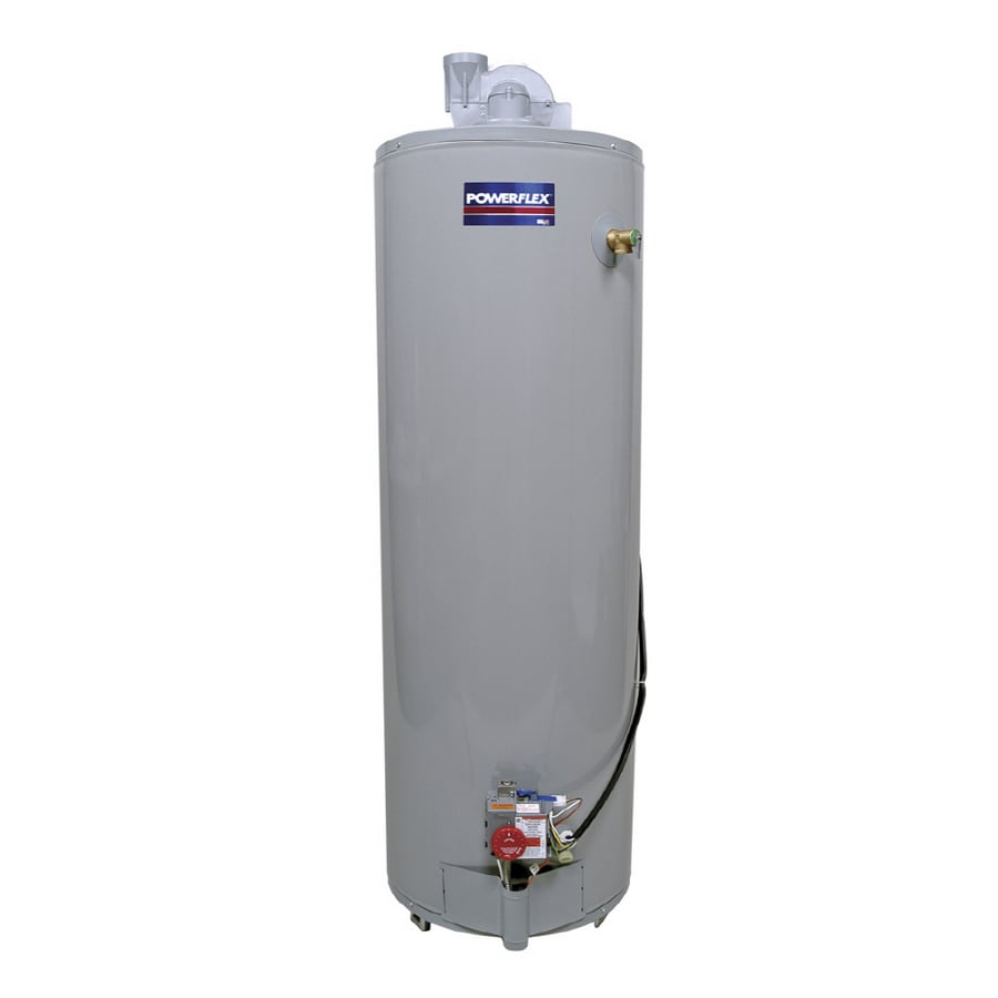 POWERFLEX 40-Gallon 6-Year Residential Tall Natural Gas Water Heater ENERGY STAR
