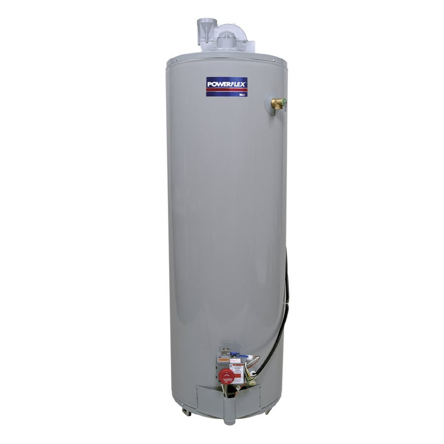 POWERFLEX 40-Gallon 6-Year Residential Tall Liquid Propane Water Heater ENERGY STAR