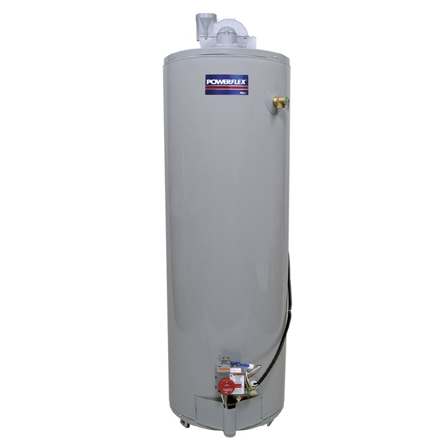 POWERFLEX 50-Gallon 6-Year Residential Tall Liquid Propane Water Heater ENERGY STAR