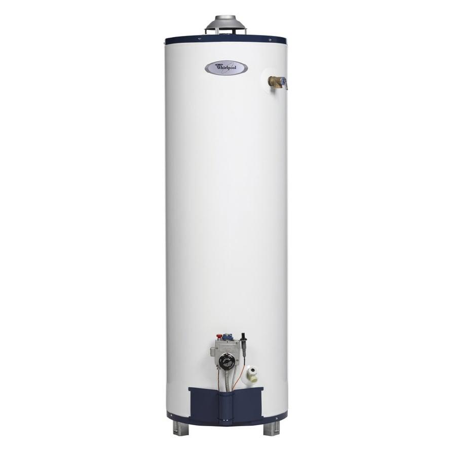 Shop Whirlpool 40 Gallon 6 Year Residential Tall Liquid