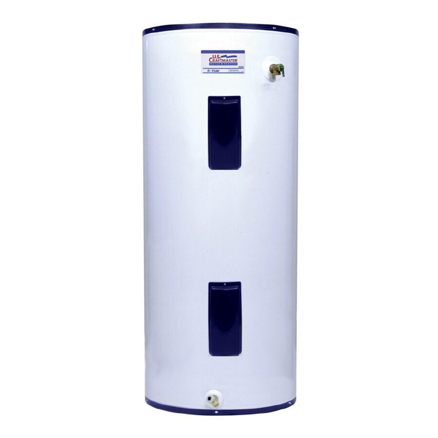 U.S. Craftmaster 119-Gallon 240-Volt 6-Year Residential Regular Electric Water Heater