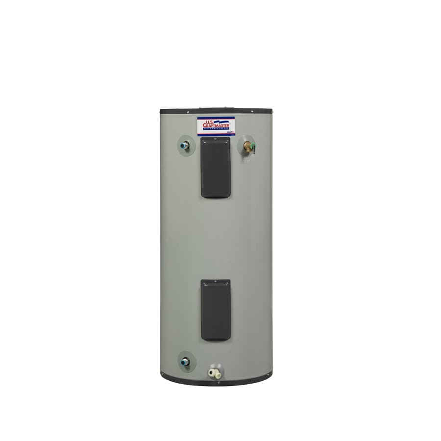 U.S. Craftmaster 40-Gallon 240-Volt 6-Year Residential Mobile Home Electric Water Heater