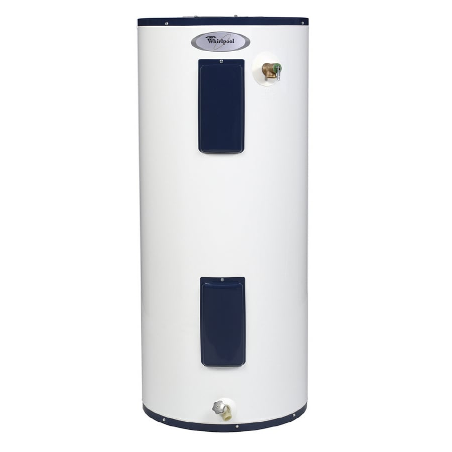 whirlpool 50 gallon 6 year regular electric water heater at. Black Bedroom Furniture Sets. Home Design Ideas