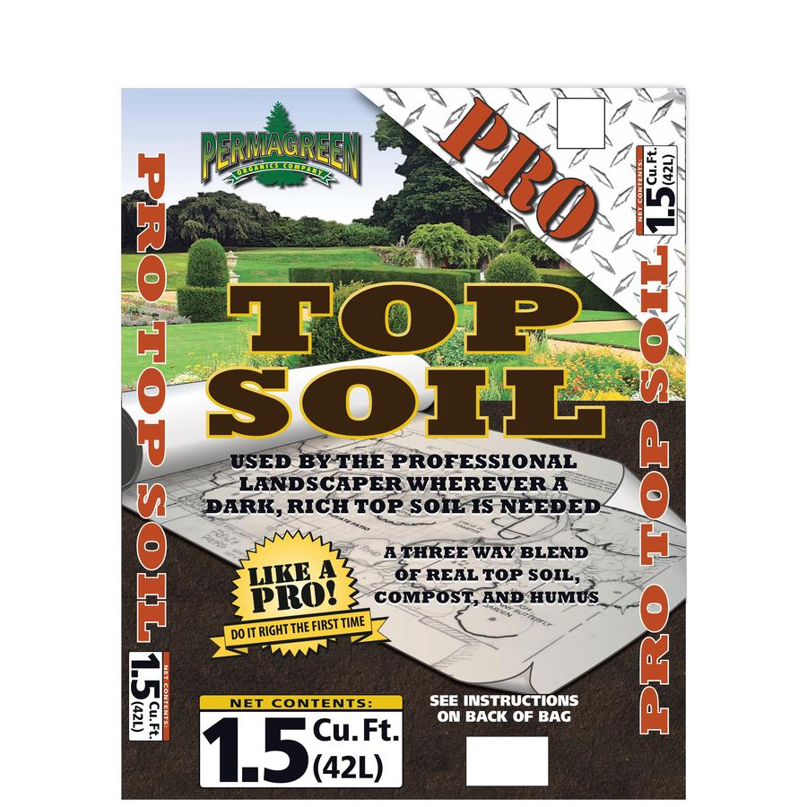 Permagreen Pro 1.5-cu ft Organic Top Soil